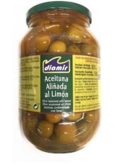Оливки Diamir Aceituna Alinada al Limon 835 g, фото 2