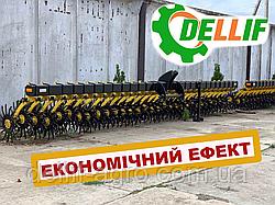 Борона ротационная Dellif Bella / 6 м, 25 рабочих органов