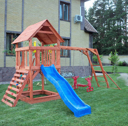 """Игровая площадка для детей """"Малыш"""" + горка спуск, фото 2"""