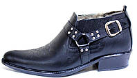 Туфли зимние мужские кожаные, казаки от производителя ЛЕ102, фото 1