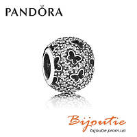 Шарм Pandora Серебряная Бусина 791482CZ  серебро 925 Пандора оригинал