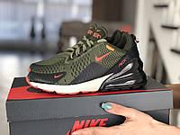 Женские кроссовки Nike цвета хаки