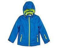Термокуртка зимняя лыжная для мальчика синяя Crane р.146/152