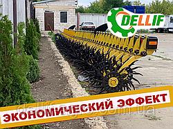 Борона ротационная мотыга Белла 3 м 13 рабочих органов Инновация