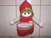 Настенные карманы для мелочей в стиле куклы