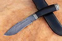 """Нож ручной работы из дамасской стали """"Леший"""""""