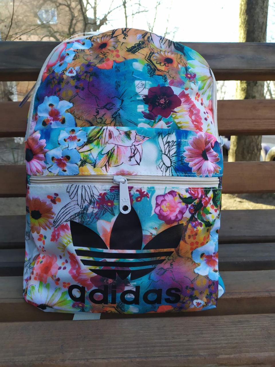 Женский городской рюкзак Adidas Original Flower 2
