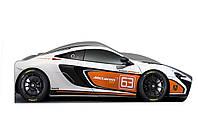 Кровать машинка гоночная Макларен машина серии Бренд McLaren спортивный, фото 1