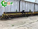 Ротационная борона Dellif Белла 6 м с транспортным положением ИННОВАЦИЯ, фото 4