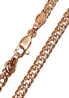 Цепочка Xuping № 143.  Золото (розовое покрытие)  49 см х 4 мм