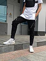 Мужские брюки карго Пушка Огонь Angry Zipp черные