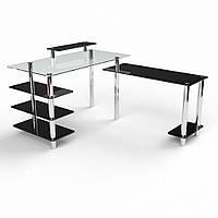 Стеклянный Компьютерный стол Тритон