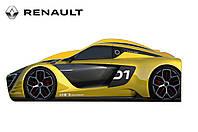Кровать машинка гоночная Рено машина серии Бренд Renault спортивный, фото 1