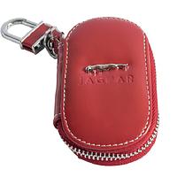Ключница Carss с логотипом JAGUAR 27015 красная
