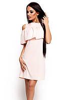 S, M, L / Молодіжне повсякденне персикове плаття