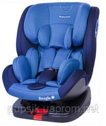 Автокресло BABYSAFE BEAGLE ISOFIX (0-25 кг) Синий