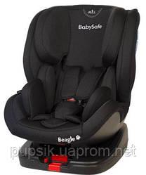 Автокресло BABYSAFE BEAGLE ISOFIX (0-25 кг) Черный