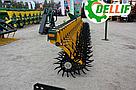 Борона-мотыга  ротационная Dellif Белла 3 м 13 рабочих органов Инновация, фото 4