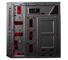 Корпус компьютерный Frime FUSION RED LED, фото 2