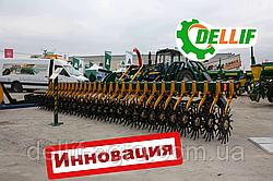 Борона мотыга ротационная Белла 3 м 13 рабочих органов  ИННОВАЦИЯ