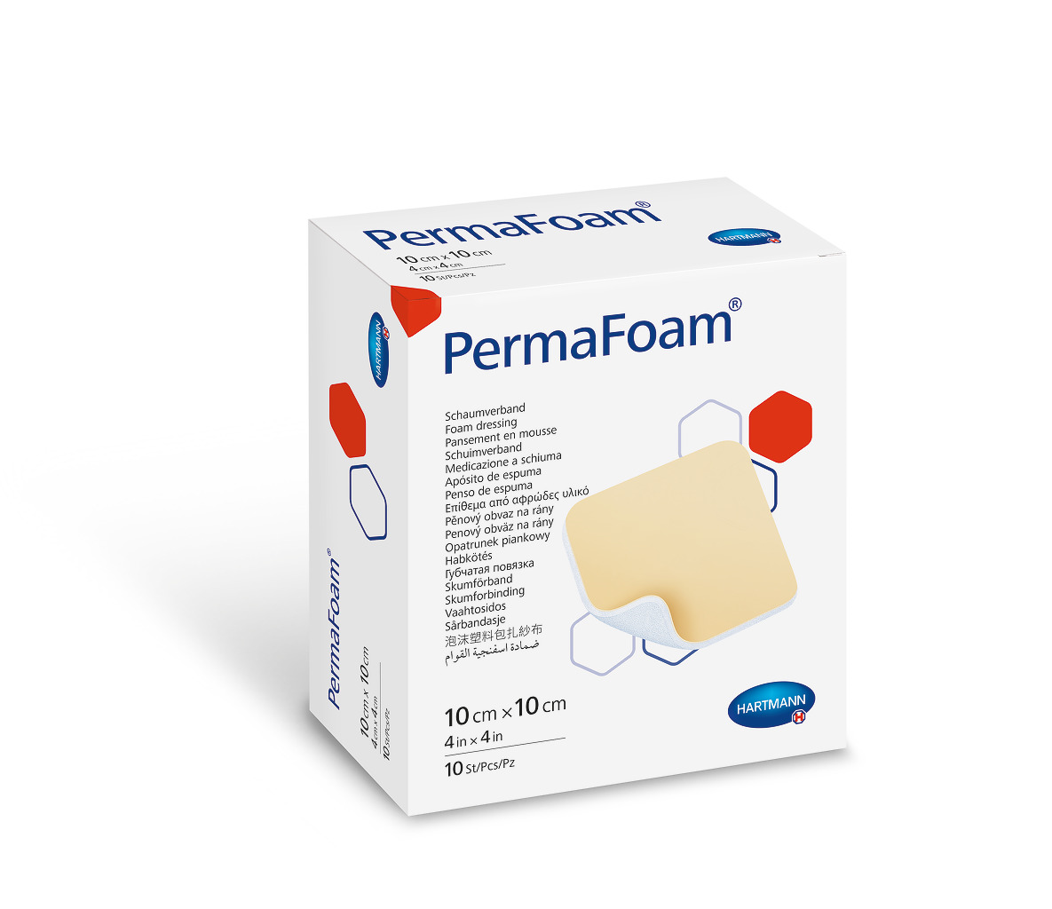 PermaFoam 10х10 см Губчатая повязка