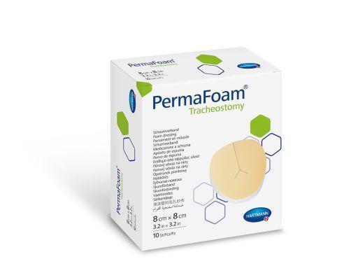 PermaFoam Tracheostomy 8х8см Губчатая повязка