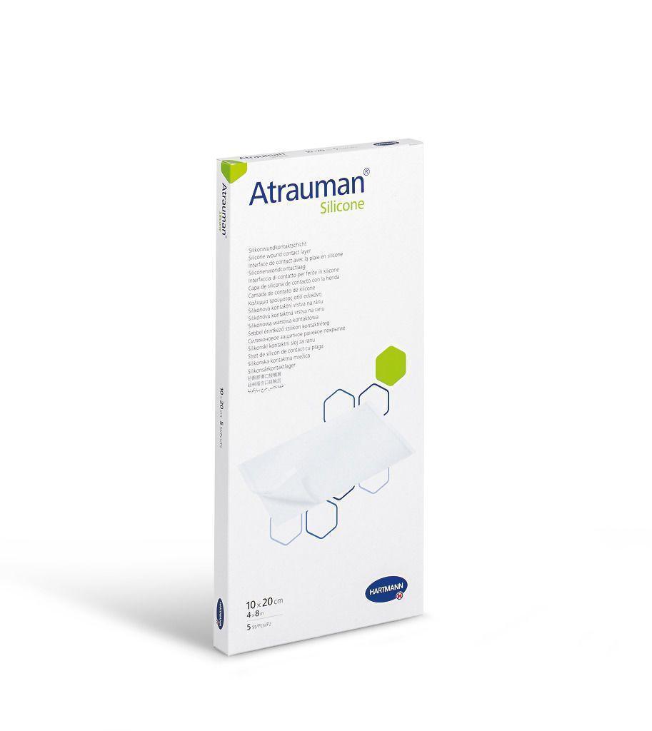 Atrauman Silicone 10x20 см - повязка атравматическая 1 шт