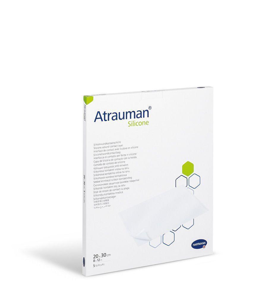 Atrauman Silicone 20x30 см - повязка атравматическая 1 шт
