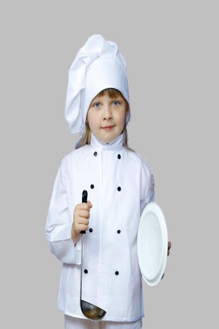 """Костюм """"Шеф-кухар"""" (кітель, ковпак). АКЦІЯ -25% до 03.04.20"""