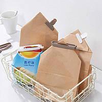 Зажимы разной формы для пищевых упаковок, пакетов и пр. Упаковка 8 шт