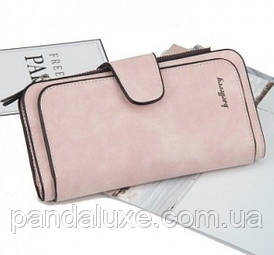 Гаманець жіночий клатч портмоне Baellerry Forever колір рожевий пудра