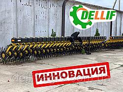 Борона мотыга  Dellif Белла 3 м 13 рабочих органов ИННОВАЦИЯ