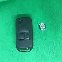 Корпус выкидного ключа MERCEDES W163, ML-class (Мерседес), 3 кнопки, лезвие HU64