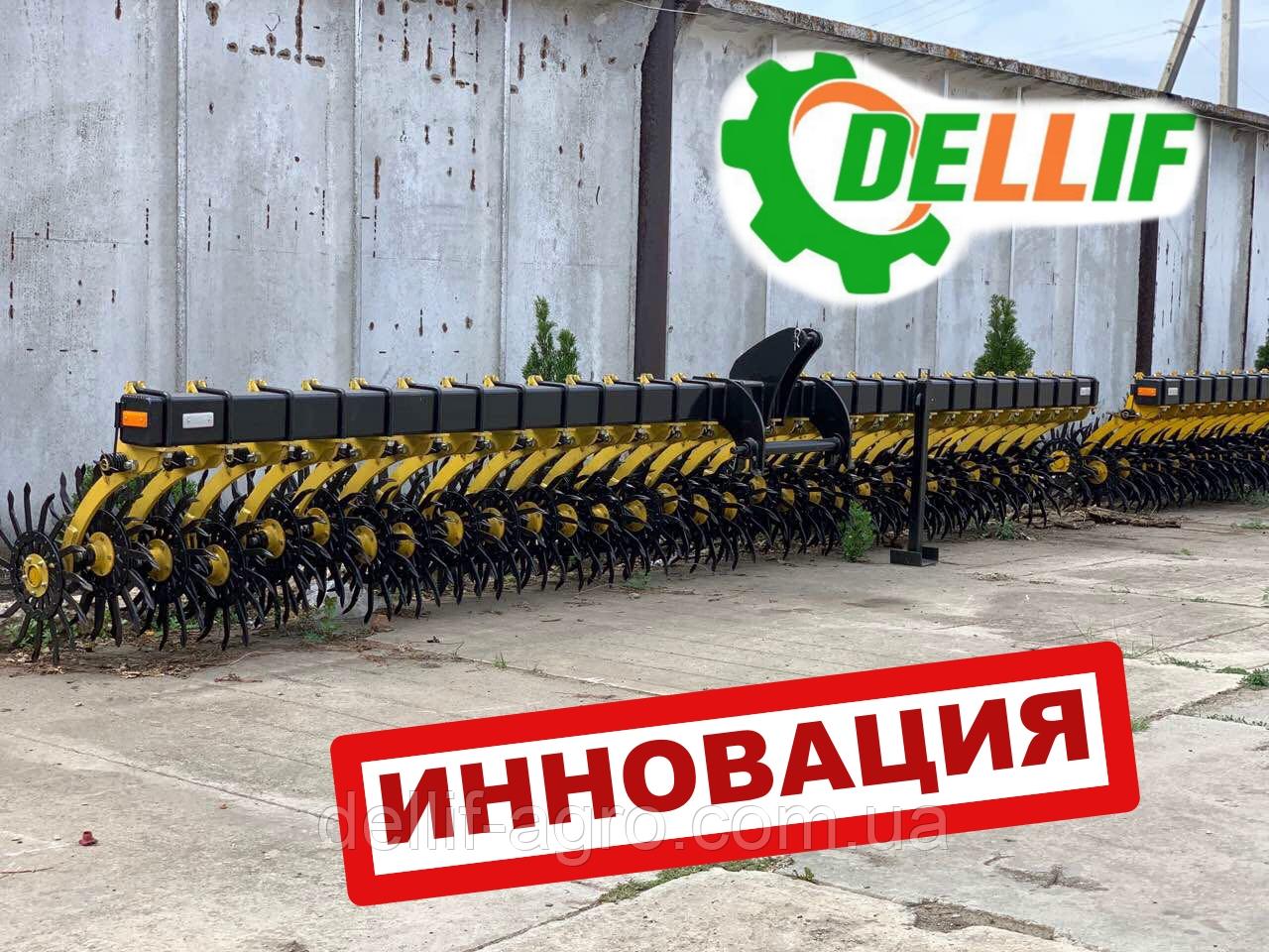 Борона мотига Белла 6 м 29 рабочих органов ИННОВАЦИЯ
