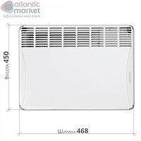 Конвектор електричний Atlantic F17 ESSENTIAL CMG BL-meca 1000W