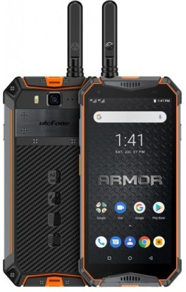 Смартфон Ulefone Armor 3WT 6/64Gb Orange РАЦИЯ, 10300mAh, 21/8Мп, 2sim, 5.7'' IPS, Helio P70, 8 ядер, 4G (LTE)