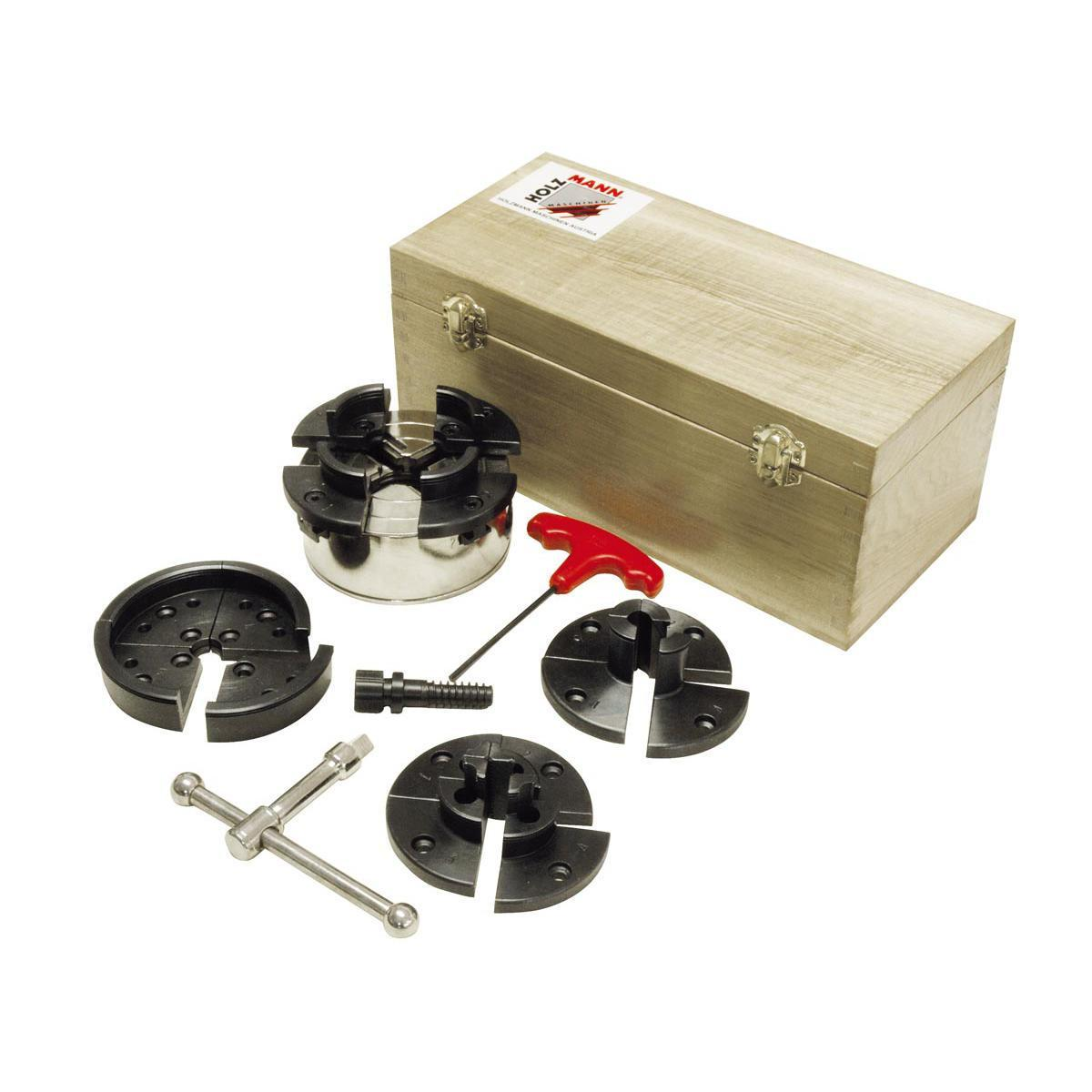 Основний комплект пристосувань для токарної обробки Holzmann DP95