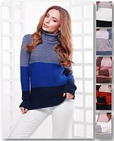 Женский свитер под горло, фото 1