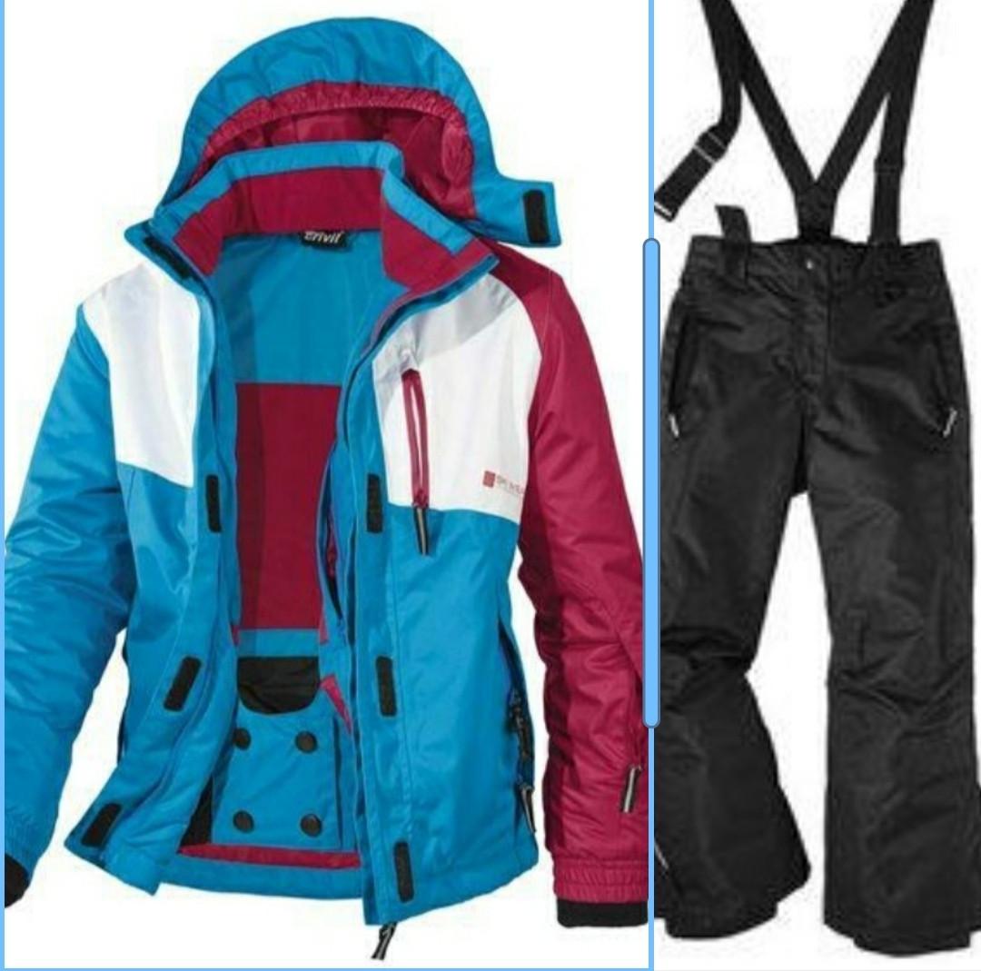 Лыжный костюм для девочки Crivit р.122/128, 134/140