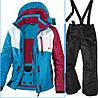 Лыжный костюм для девочки Crivit р.134/140