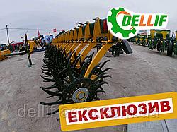 Борона ротационная Dellif Белла 6 м 25 рабочих органов, Ступица под ВАЗ, ИННОВАЦИЯ
