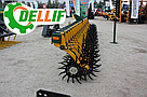 Борона ротационная мотыга Dellif  Белла 6 м 25 рабочих органов  Инновация, фото 3