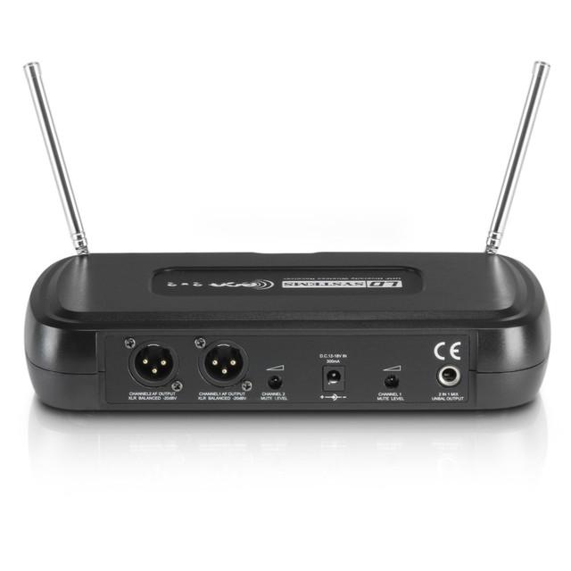 Беспроводная система - два ручных микрофона LD Systems WSECO2X2HHD