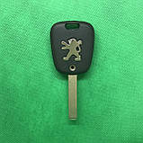 Корпус авто ключа для PEUGEOT (Пежо) 107, 2 - кнопки, лезвие VA2, фото 2