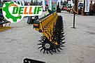 Борона мотыга ротационная Dellif  Белла 3 м 15 рабочих органов Инновация, фото 4
