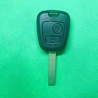 Корпус автоключа для PEUGEOT (Пежо) 307, 2 - кнопки, лезвие HU83T