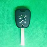 Корпус автоключа для PEUGEOT (Пежо) 307, 2 - кнопки, лезвие HU83T, фото 2