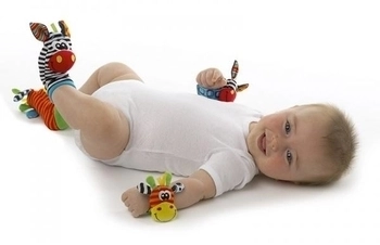 """Набор игрушек-погремушек """"Джунгли"""" PLAYGRO"""