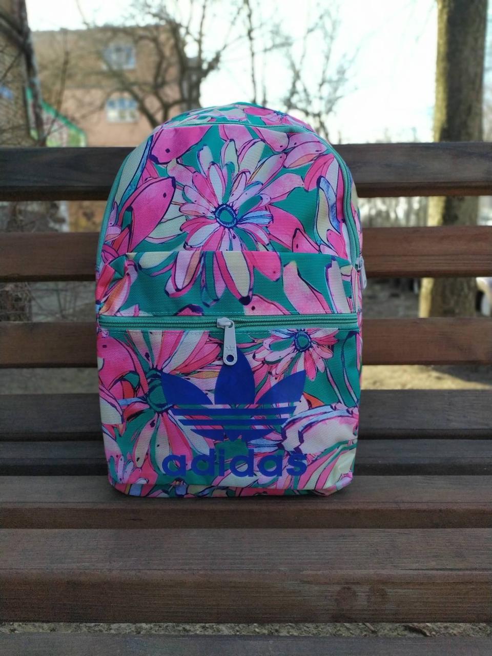 Женский городской рюкзак Adidas Original Flower