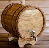 Бочка дубовая для напитков (жбан)